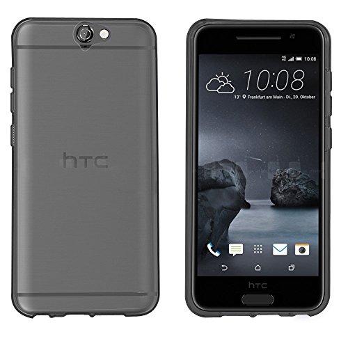 HTC ONE A9 Hülle, IVSO Ultra Slim Silikon Rückseite Schutzhülle, mit Advanced Shock Absorption Technology hülle für HTC ONE A9 Smartphone, Transparent Grau