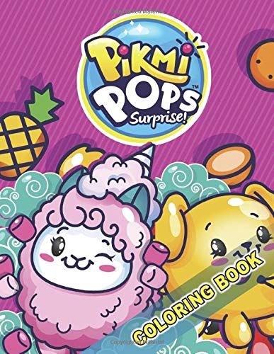 Pikmi Pops Surprise! Coloring Book: Great Activity Book for Kids (Coloring Books Frozen)