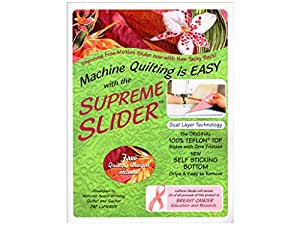 Supreme Slider Machine Quilting & Embroidery Made Easy