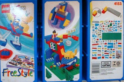 LEGO System FreeStyle 4153 Jumbo Junior (Lego Jumbo-set)