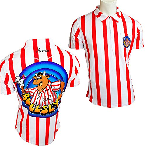 Official Bullseye Bully Dart Shirt with Darts Corner Curvy Ballpen