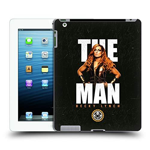 Head Case Designs Offizielle WWE Bild Becky Lynch The Man Harte Rueckseiten Huelle kompatibel mit iPad 3 / iPad 4 (Case Ipad 3 Hulk)