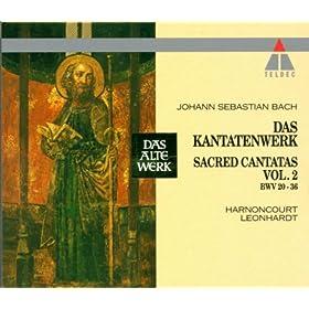 """Cantata No.21 Ich hatte viel Bek�mmernis BWV21 : VII Recitative - """"Ach Jesu, meine Ruh"""" [Boy Soprano, Bass]"""
