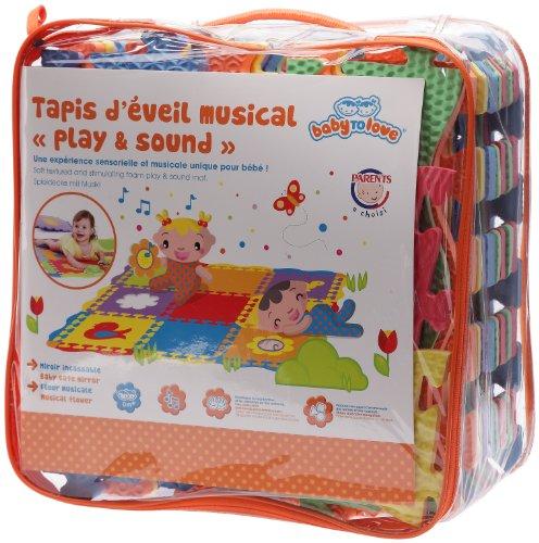Bebé to Love - BTL716106 - Alfombra actividad musical - Escuchar y sonido