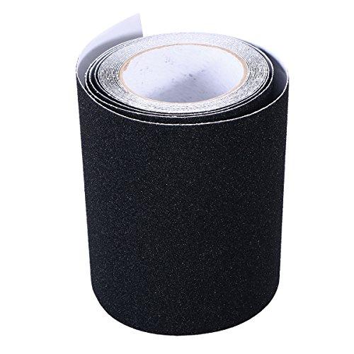 Bestomz nastri adesivi antiscivolo per scale, colore nero, 5m x 15cm