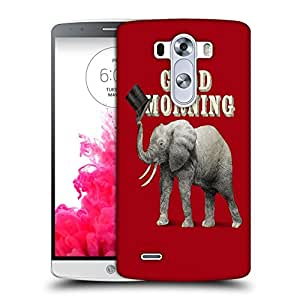 Snoogg Good Morning Designer Protective Back Case Cover For LG G3 BEAT