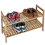 Jago Regal für Schuhe aus Walnussholz