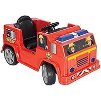 Fireman Sam M09281 6V Jupiter Battery Operated Ride On