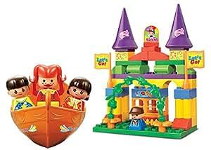 Sluban M38-B6025 Lego Amusement Park Building Block Toy, Multi Colour