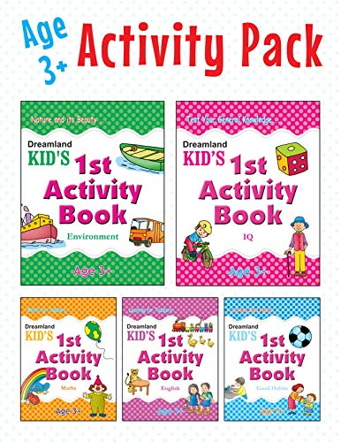 Kid's Activity Age 3+ - Pack (5 Titles) Image