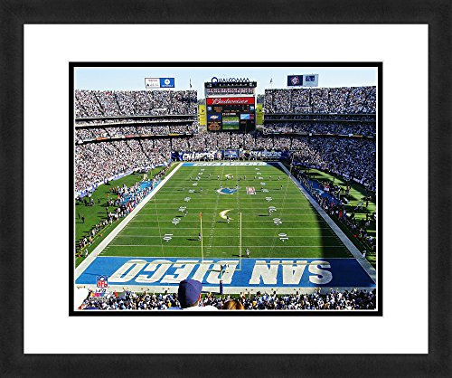 nfl-san-diego-chargers-qualcomm-stadium-beautifully-framed-and-double-matted-18-x-22-sports-photogra
