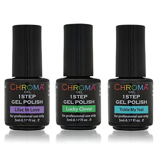 1 Step Gel Polish - Pop Of Colour Collection -