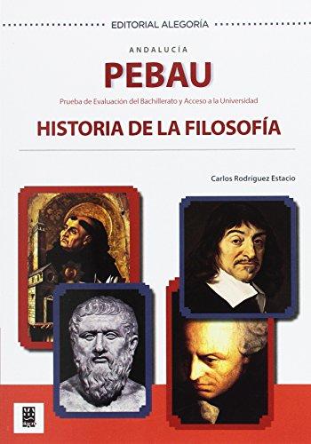PEBAU. Historia Filosofía.