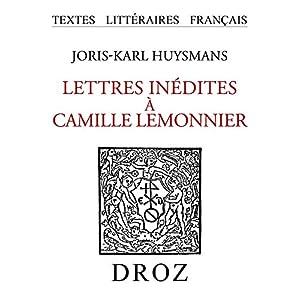 Lettres inédites à Camille Lemonnier