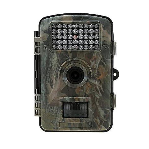 Lixada Portable Wildlife Hunting Camera 12MP HD Digital Infrared Scouting