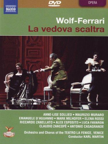 Wolf-Ferrari - La vedova scaltra [2 DVDs]