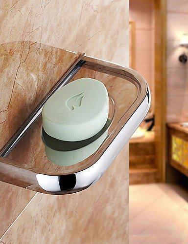 QMM Bad-Accessoires, Seifenschale / Badezimmer Gadget , Modern Chrom Wand befestigend , chrome -