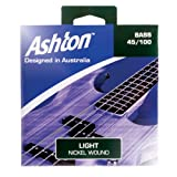 Ashton 45-100 Lot de 6 cordes pour guitare basse Light