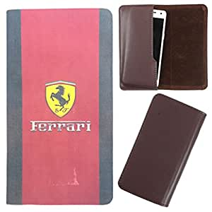 DooDa - For Karbonn A21 PU Leather Designer Fashionable Fancy Case Cover Pouch With Smooth Inner Velvet