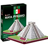 Temple of 3D three-dimensional puzzle Castillo Maya civilization Kukulcan (japan import) by Heart Art Collection by Heart Art Collection