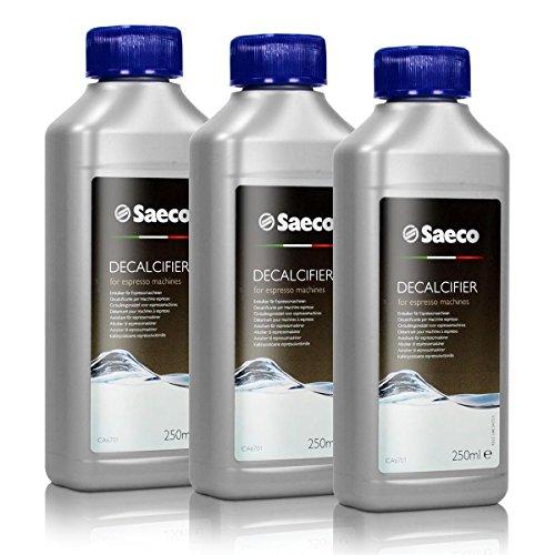Saeco Entkalker Konzentrat für Kaffeemaschine Espressomaschine, 250ml, 3er Pack thumbnail
