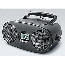 new-one RD 312Radio con reproductor de CD, color gris antracita