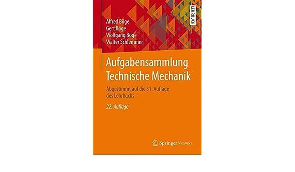 Aufgabensammlung Technische Mechanik Pdf