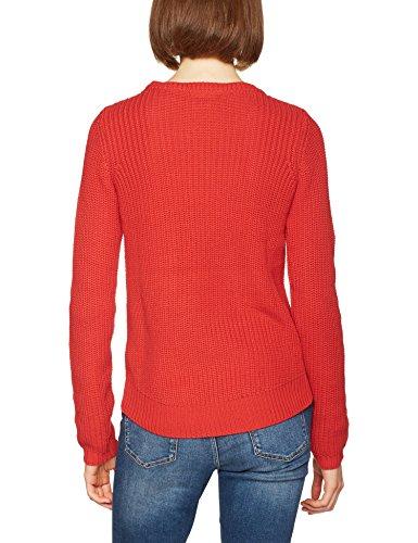 VERO MODA Damen Pullover Vmlex Ls Blouse Noos Rot (Flame Scarlet)