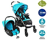 R for Rabbit Travel System - Chocolate Ride - Baby Stroller/Pram + Infant