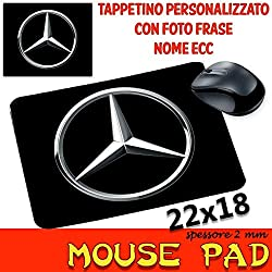 MyCust Mousepad personalisierbar sp 2 mm Kollektion Auto Motorrad Mercedes