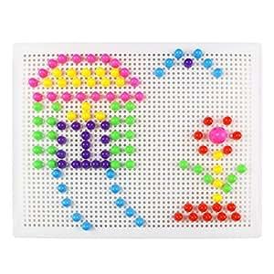 mosaik steckspiel baukasten stecker spielzeug geschenk f r. Black Bedroom Furniture Sets. Home Design Ideas