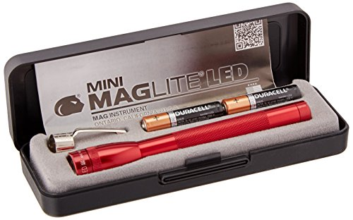 Maglite P32032 m LED AAA Mini Mag lampe torche, Rouge