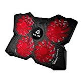 KLIM Wind laptop PC USB Cooler (Red and Black)