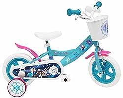 Disney Die Eiskönigin Kinderfahrrad Weiß/Blau 10 Zoll