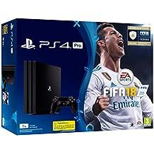 PlayStation 4 Pro (PS4) - Consola de 1 TB + FIFA 18