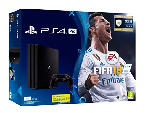 PlayStation 4 Pro (PS4) - Consola de 1 TB + FIFA 18