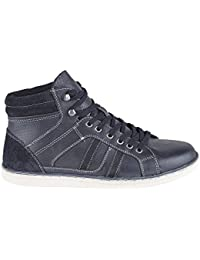 Private Brand - Zapatillas para hombre Negro negro, color Negro, talla 41 EU / 7 UK
