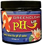 Style:pH Adjuster -UP GreenClean pH UP slowly raises the pH of pond water, making it more alkaline. Keeping pH levels in a neutral range is essential for the health of aquatic life, plants and the pond ecosystem. An unbalanced pH level suppresses the...