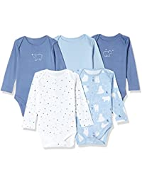 Mothercare Baby Boys' Bodysuit (Pack of 5)