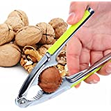 Kitchen Nut Cracker Stainless Steel Multi-Function Nut Cracker Sheller Walnut Plier Metal Opener Tool Crab Tool Crab Crackers