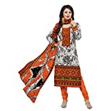 Rajnandini Women's Ethnic Wear Orange Pu...