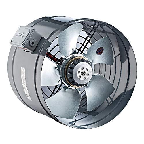 Uzman-Versand 300mm Rohrventilator, Kanallüfter Kanalventilator Rohrlüfter Axial Rohrgebläse Rohrventilator Ventilator Axialventilator Rohr Kanal Gebläse Lüfter Saugventilator - Ac-gebläse-ventilator