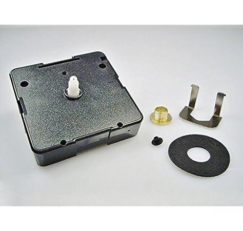 UTS Quarzuhrwerk f/ür Ziffernblatt 1-7mm mit Zeigersatz Nr.11 schwarz-schwarz