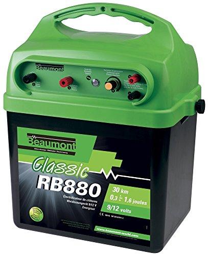 """Solarfähiges Batteriegerät 9 V/12 V """"Classic"""" RB 880, grün"""