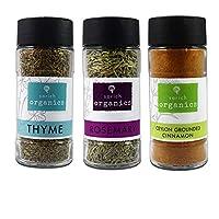 Sorich Organics Rosemary,Thyme and Cinnamon Combo