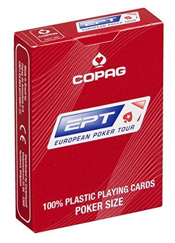 """Cartamundi """"Copag Europea Poker Tour etc Juego de cartas de plástico"""
