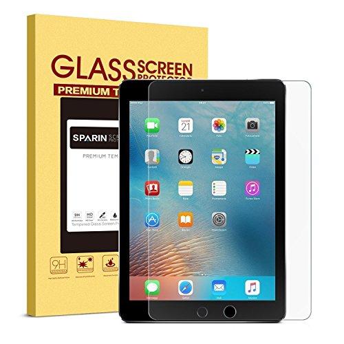 Pellicola Vetro Temperato iPad 2018 & 2017 & iPad Pro 9.7, SPARIN Pellicola Protettiva per New iPad 9.7 ( 2017) / iPad Pro 9.7 - (9.7 pollici)
