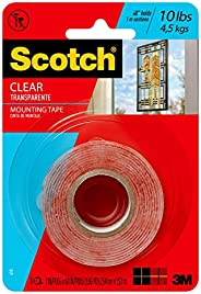 """410P CLEAR MOUNTING TAPE 1"""""""