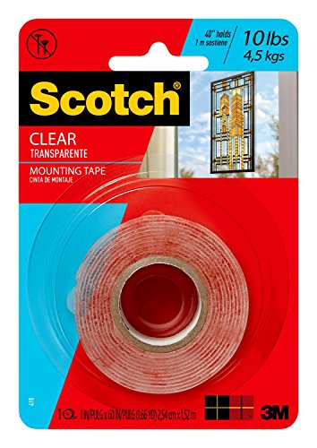 Scotch Clear Mounting Tape by 3M