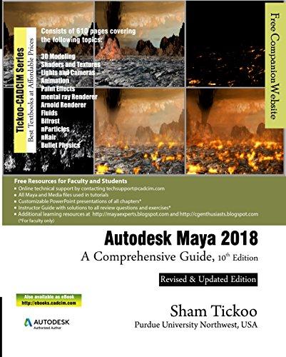 Autodesk Maya 2018: A Comprehensive Guide (English Edition)